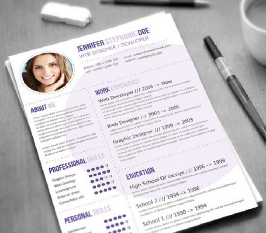I will Design an classic and professional graphical Resume/CV