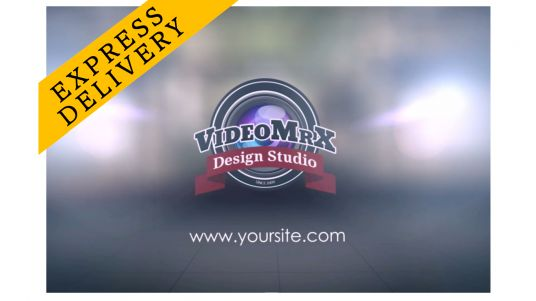 make a video INAUGURATION with your logo in HD