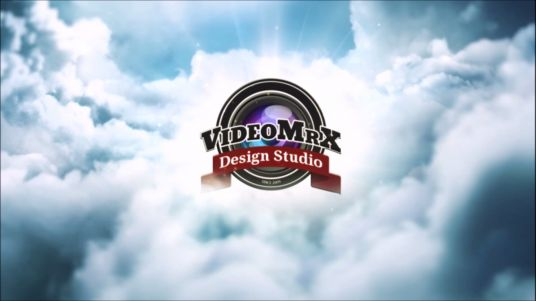 make a logo Reveal Video on the Blue SKY very Professional