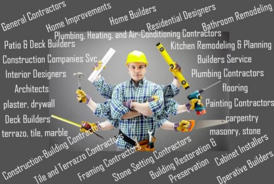 make contact list for USA or UK or AU or Canada architect, designers and various types Contractors