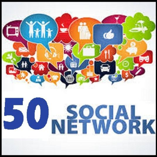I will post anything to  50  Socialnetwork PR5-9  Backlinks with million active followers