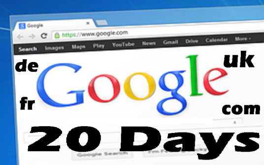 deliver  20 Days Live Organic UK  GOOGLE Search Traffic