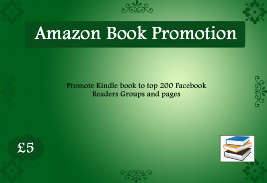 I will promote your amazon BOOK on 100 Social Media Groups Pages