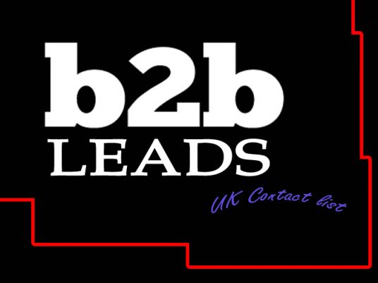 I will Send you good and fresh 500 plus records UK B2B contacts database with email