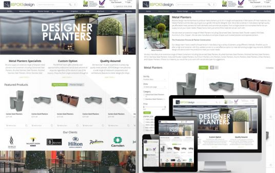 develop full Responsive eCommerce magento/prestashop/wordpress website