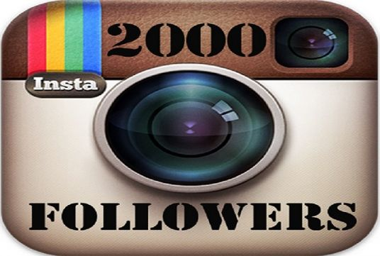 I will Give you 2000+ REAL Instagram Followers OR likes Permanent
