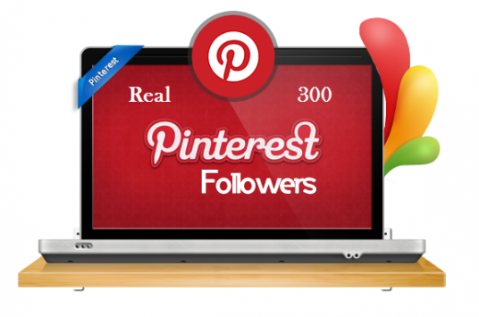 provide over 300 Pinterest Followers to your account - high quality, real people and permanent