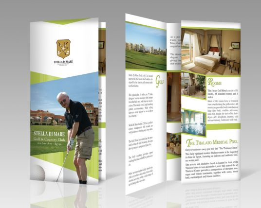 I will Design Outstanding Print Ready Brochure