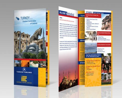 Design Outstanding Print Ready Brochure