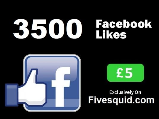 I will Add 3500 Permanent Facebook Likes on Fan Page