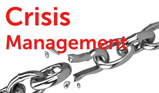 give you a consultation on how to deal with a crisis