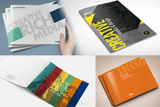 design books, booklets, catalogs, guideline books!