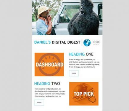 how to create a mailchimp template