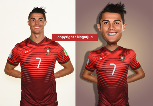 how to make caricature in photoshop cs3