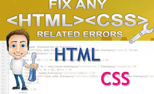 I will fix any kind of html, css errors or responsive issue within 24hr