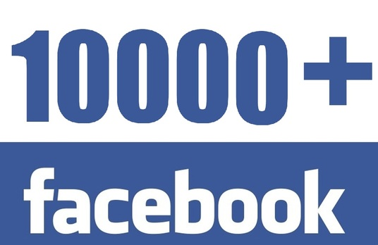 I will add 10000 real  Facebook fan pages likes