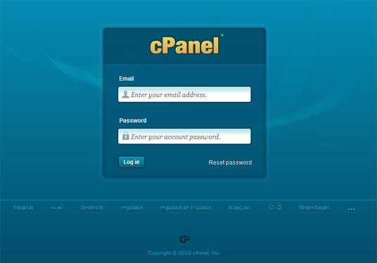 Setup cPanel email accounts