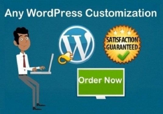 I will customize wordpress theme