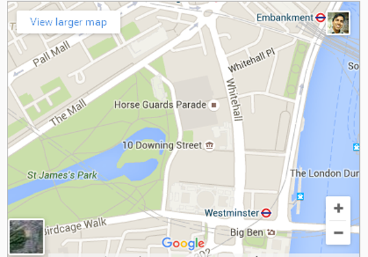 google office website. ccccccshow office location in your website using google map