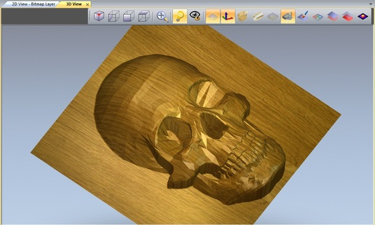I will design 3D models for CNC Routers