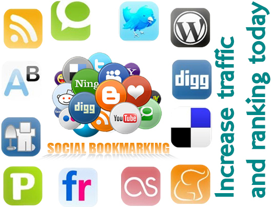 I will share your website to 2100+ social media bookmarks to increase website rank and traffic