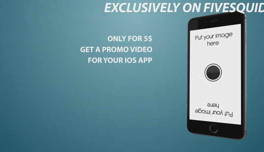create this stunning iPhone app promo video