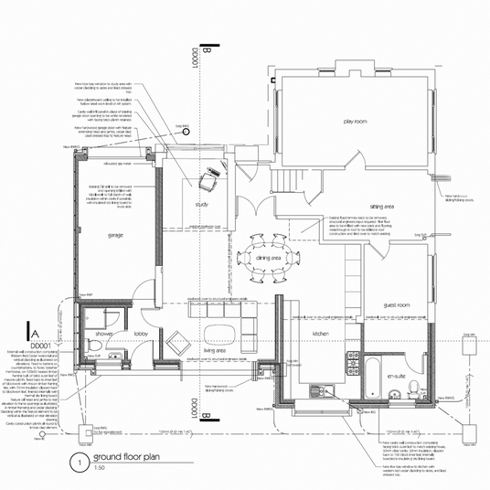 I will provide an estimate for a house extension