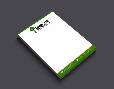 design professional business LETTERHEAD