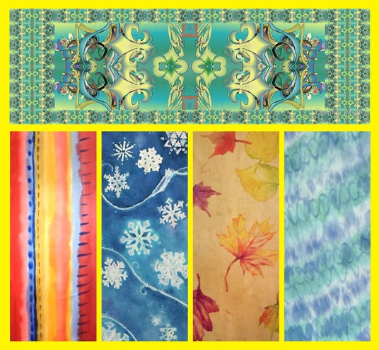 I will Redraw or Create Textile Design and Scarf
