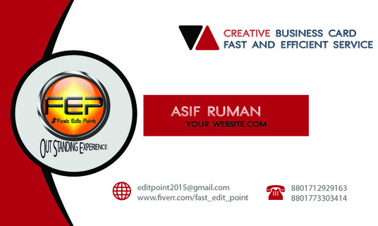 I will design an amazing business card