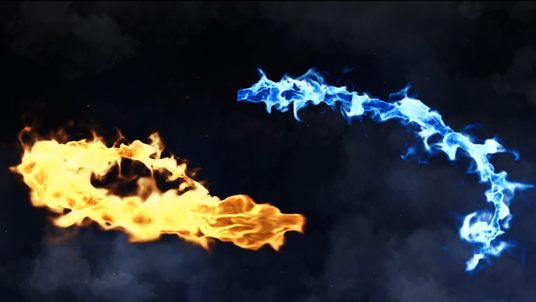 create this amazing DRAGON FIRE logo reveal