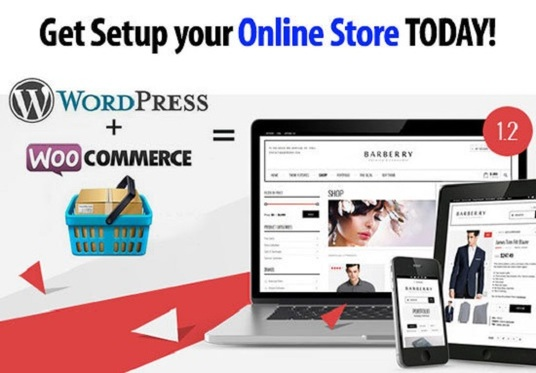 I will create wordpress woocommerce website