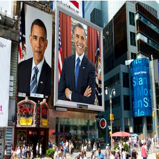 I will put your logo, photo or image on 20 billboards at world's famous places