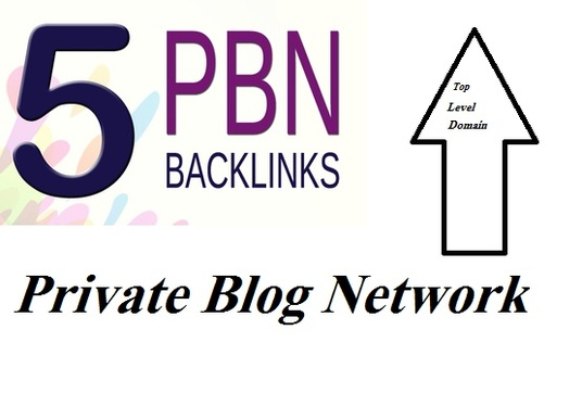 I will do 5 Powerful Permanent PBN Backlinks