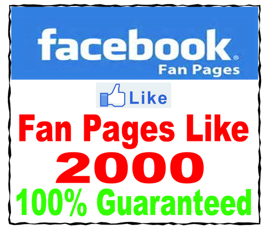 I will Add 2000+ GUARANTEED Real Facebook Likes to your FanPage without Admin access