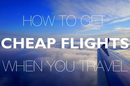 I will find you an amazing cheap flight to anywhere you want to go