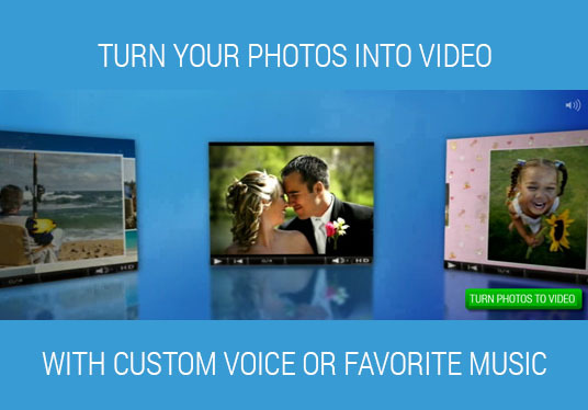edit your pictures or video clips and make wonderful video presentation!