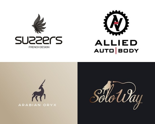 I will design a creative logo for your brand