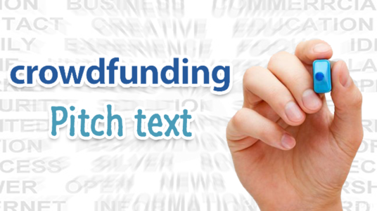 I will write your Crowdfunding campaign pitch