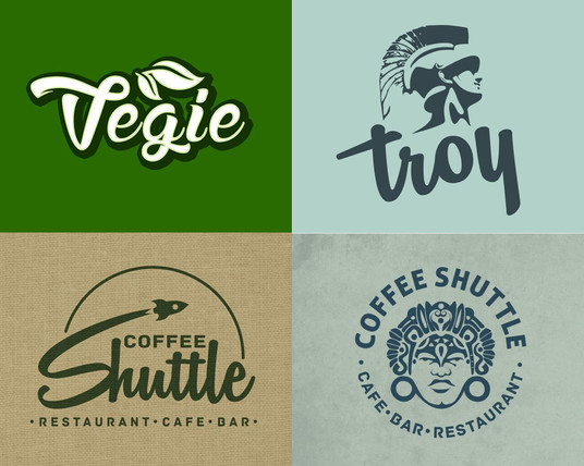 I will design 2 vintage and Eye catching logo for you