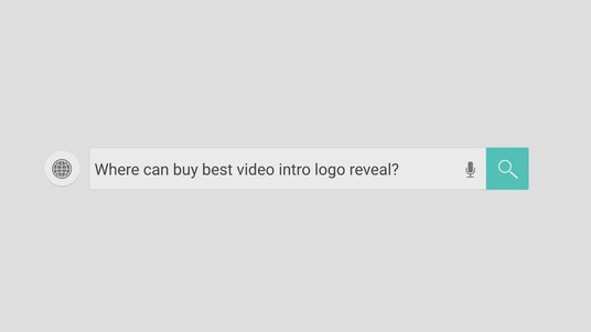 I will produce Website title Search Logo Reveal clean elegant