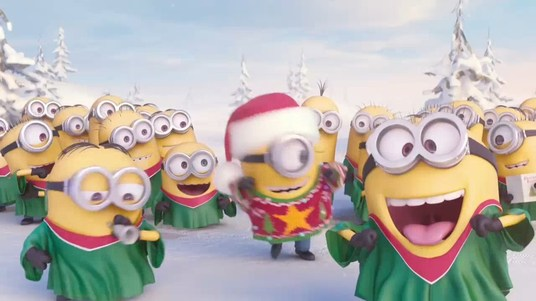 I will Create This Minions Xmas or New Year video