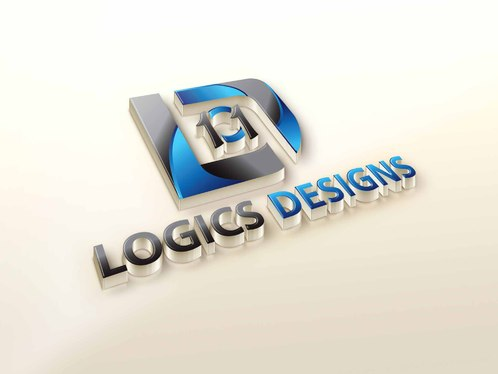 cccccc- Create 3D LOGO Mock up