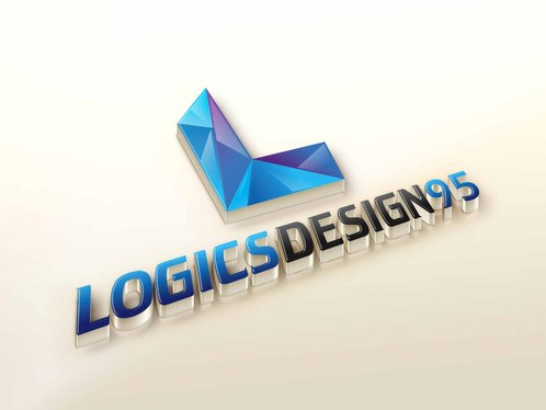 Create 3D LOGO Mock up