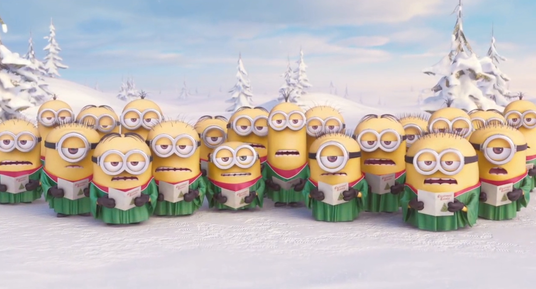 I will create amazing Minions happy holidays greeting video