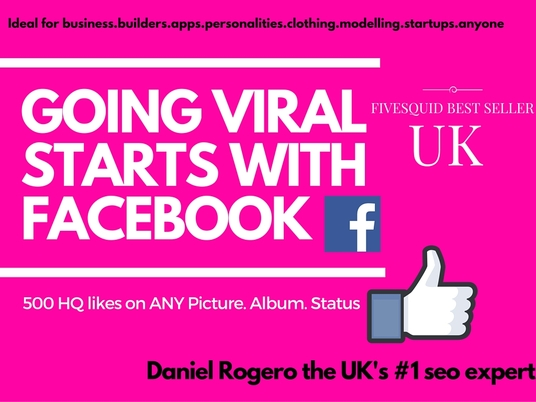 I will explode your UK FB business or brand page with 500 HQ likes in ANY photos, posts, status,