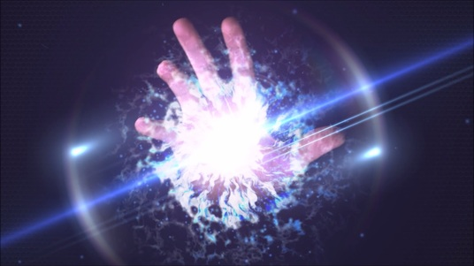 I will apply your logo with 3d Magic Hand intro Full HD