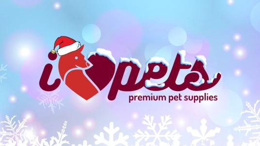 add a christmas hat and snow effect on your logo