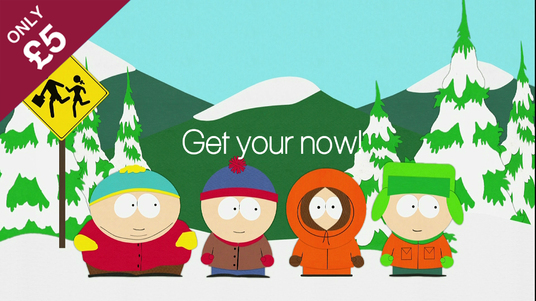 I will turn you in a South Park cartoon character