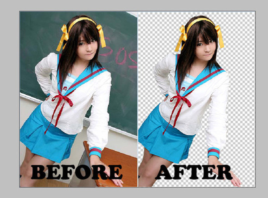 I will edit photos, retouching, remove and change background in Photoshop of 5 images